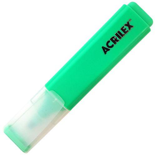 Caneta-Marca-Texto-Retangular-Verde-Acrilex