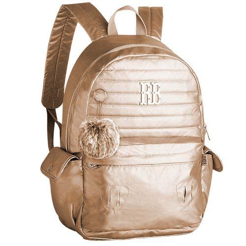Mochila-Escolar-Rebecca-Bonbon-Dourada-Clio-Style-RB9269