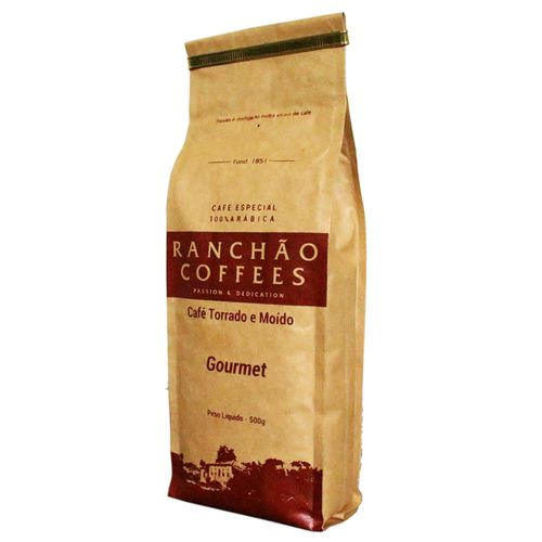Cafe-Torrado-e-Moido-Ranchao-Coffees-500g-Gourmet