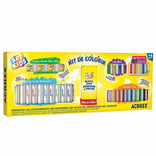 Kit-de-Colorir-Art-Kids-Acrilex