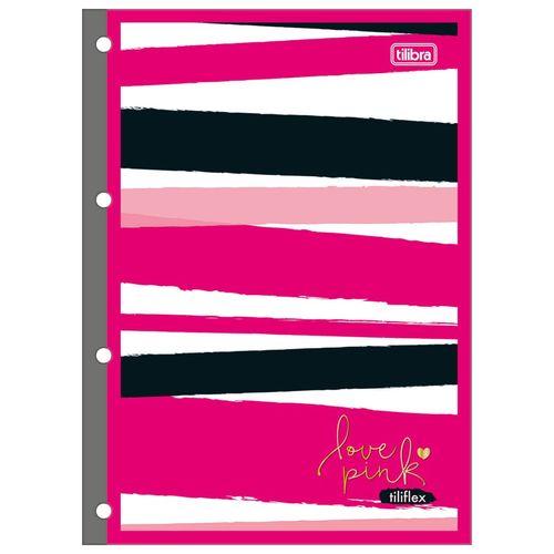 Bloco-para-Fichario-Love-Pink-80-Folhas-Tilibra