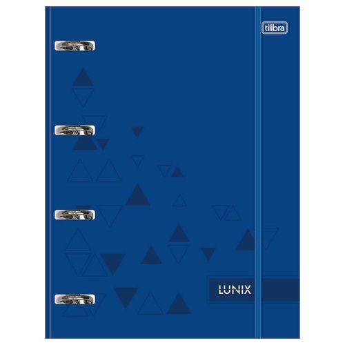 Fichario-Universitario-4-Argolas-Lunix-Azul-Tilibra