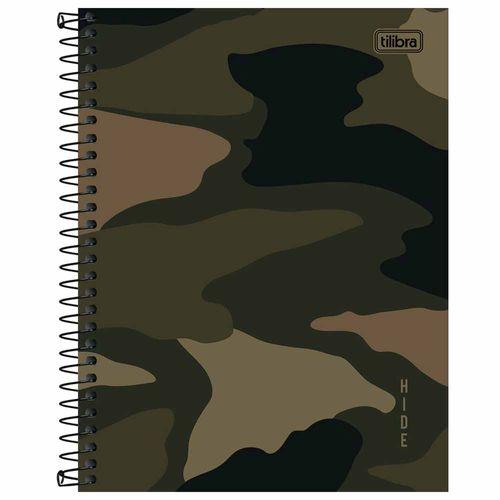 Caderno-Colegial-Hide-10-Materias-Tilibra