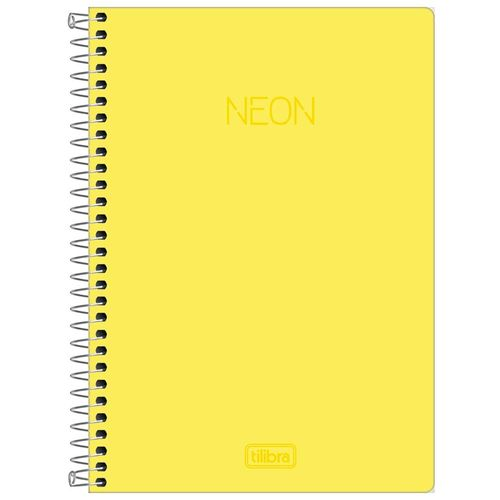 Caderno-14-Neon-Amarelo-80-Folhas-Tilibra