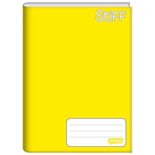 Caderno-Brochura-14-Stiff-Amarelo-48-Folhas-Jandaia