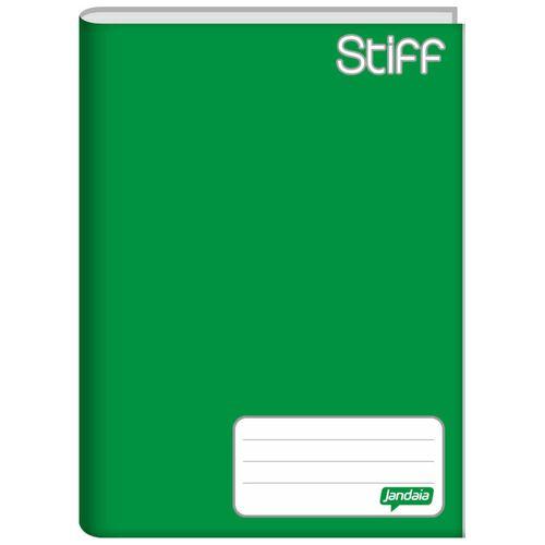 Caderno-Brochura-14-Stiff-Verde-48-Folhas-Jandaia