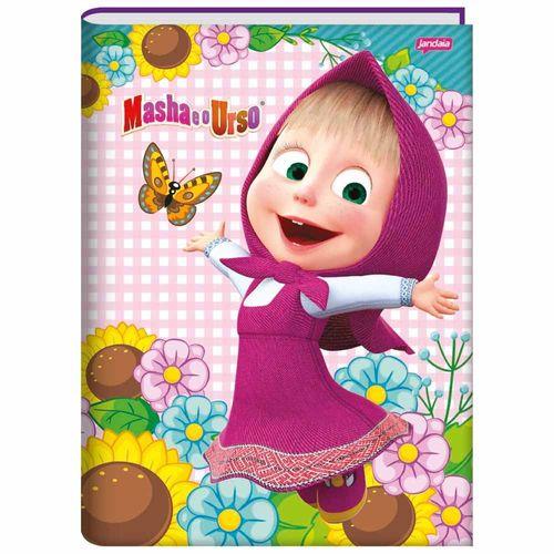 Caderno-Brochurao-Masha-e-o-Urso-96-Folhas-Jandaia