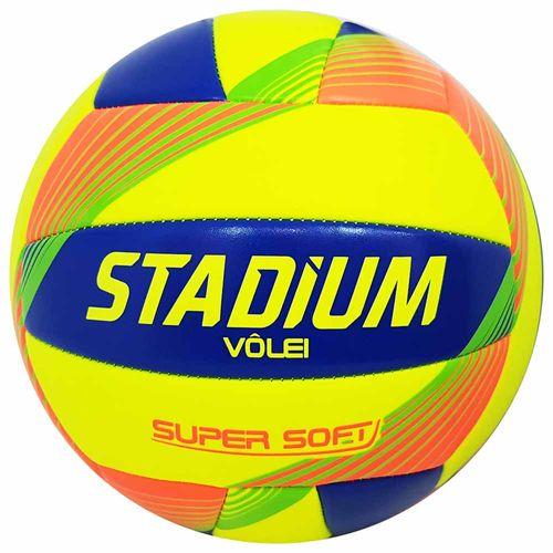 Bola-de-Volei-Stadium-Super-Soft-Amarela