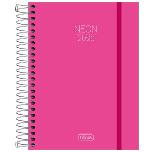 Agenda-2020-Tilibra-Neon-Rosa