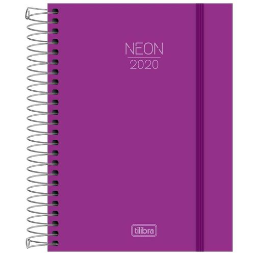 Agenda-2020-Tilibra-Neon-Roxa