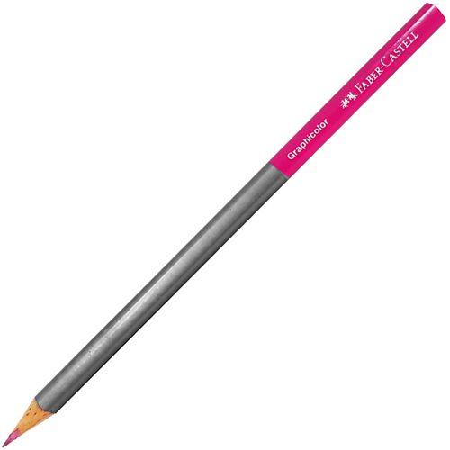 Lapis-de-Escrever-Graphcolor-Rosa-Faber-Castell