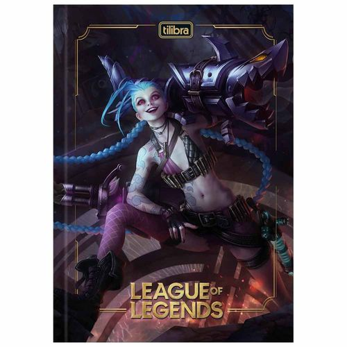 Caderno-Brochura-14-League-of-Legends-80-Folhas-Tilibra