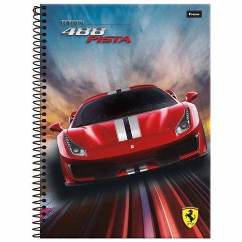 Caderno-14-Ferrari-80-Folhas-Foroni