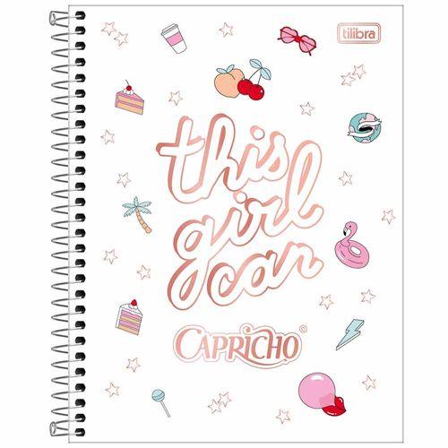 Caderno-Colegial-Capricho-10-Materias-Tilibra