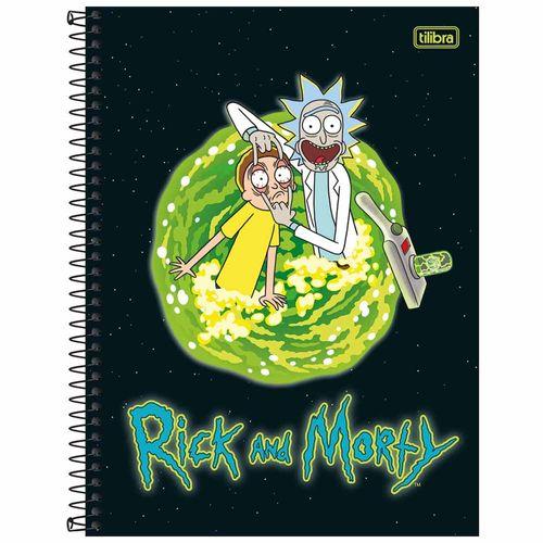 Caderno-Universitario-Rick-e-Morty-10-Materias-Tilibra