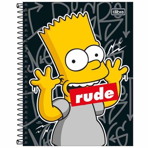 Caderno-Colegial-Simpsons-10-Materias-Tilibra