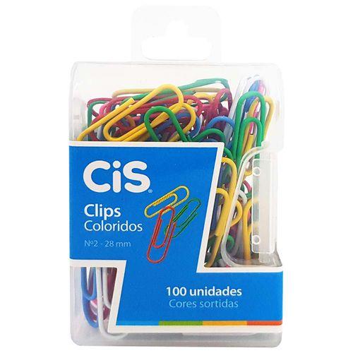 Clips-para-Papel-Colorido-Cis-100-Unidades