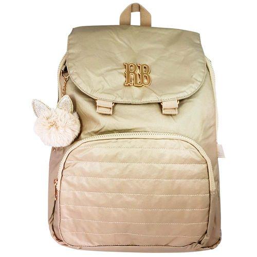 Mochila-Escolar-Rebecca-Bonbon-Dourada-Clio-Style-RB2049
