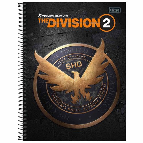 Caderno-Universitario-The-Division-1-Materia-Tilibra