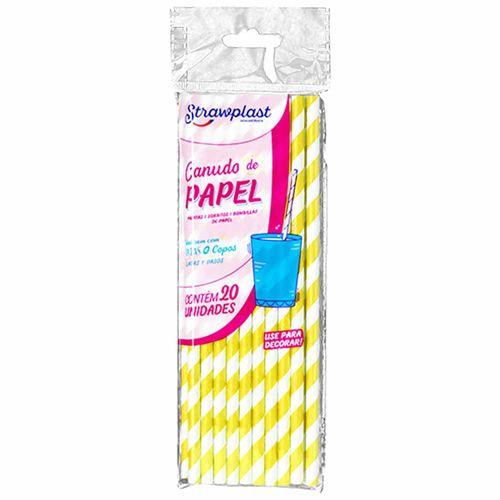 Canudo-de-Papel-Amarelo-Strawplast-100-Unidades