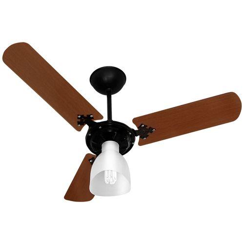 Ventilador-Teto-New-Delta-Light-Preto-e-Mogno-130W-Venti-Delta-127V