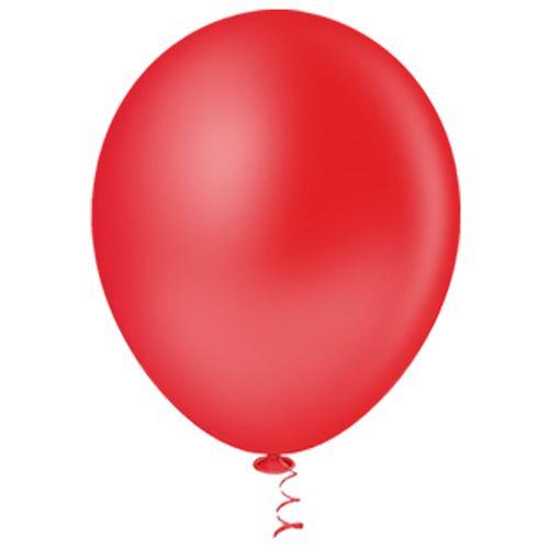 Bexiga-Redonda-9-Vermelha-Pic-Pic-50-Unidades
