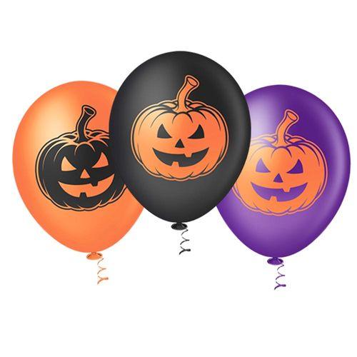 Bexiga-Fantasia-Halloween-Abobora-10-Sortida-Pic-Pic-25-Unidades