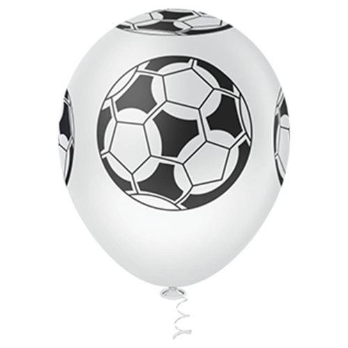 Bexiga-Fantasia-Bola-de-Futebol-10-Branco-com-Preto-Pic-Pic-25-Unidades