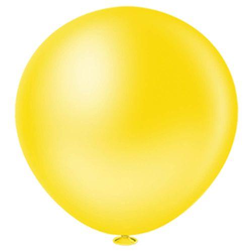 Bexiga-Maxi-Ball-40-Amarela-Pic-Pic