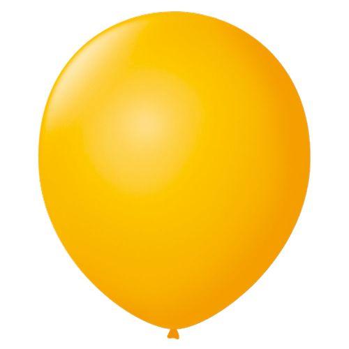 Bexiga-Lisa-7-Amarelo-Sol-Sao-Roque-50-Unidades