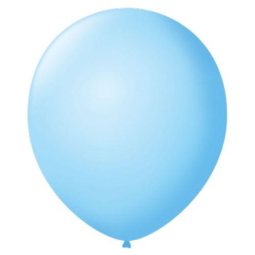 Bexiga-Lisa-7-Azul-Baby-Sao-Roque-50-Unidades