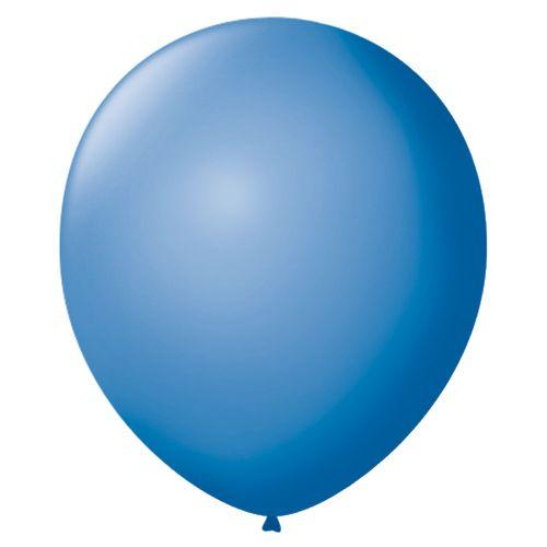 Bexiga-Lisa-7-Azul-Turquesa-Sao-Roque-50-Unidades