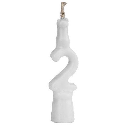 Vela-de-Aniversario-Branca-Regina-Numero-2