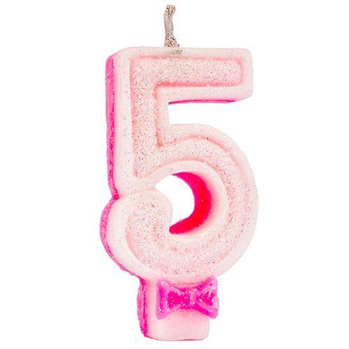 Vela-de-Aniversario-Super-Glitter-Rosa-Regina-Numero-5