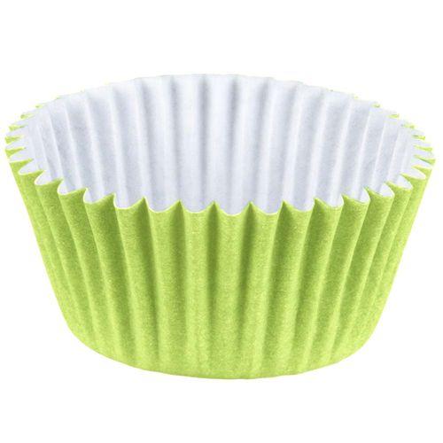 Forminha-de-Papel-Nº4-Colors-Verde-Limao-Regina-100-Unidades