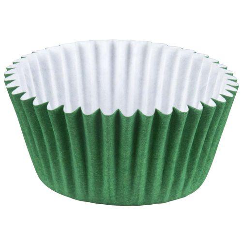 Forminha-de-Papel-Nº6-Colors-Verde-Escuro-Regina-100-Unidades