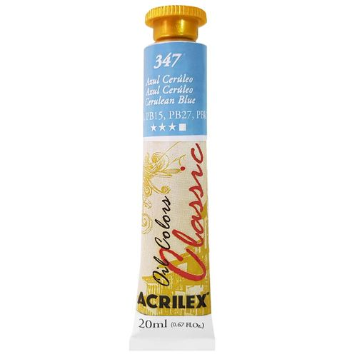 Tinta-Oleo-20ml-Classic-347-Azul-Ceruleo-Acrilex