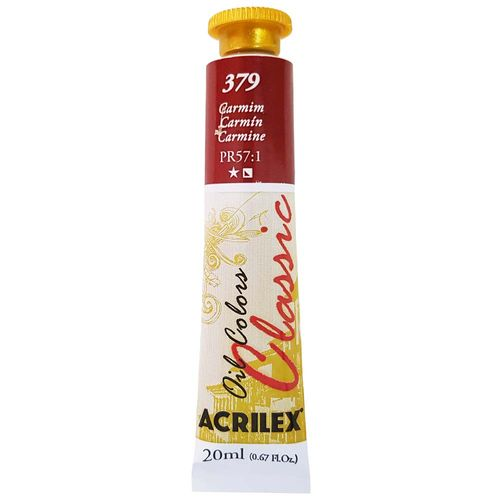 Tinta-Oleo-20ml-Classic-379-Carmim-Acrilex
