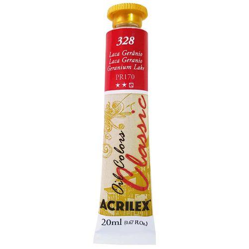 Tinta-Oleo-20ml-Classic-328-Laca-Geranio-Acrilex