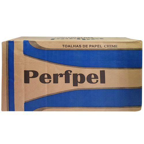 Papel-Toalha-Interfolha-Duas-Dobras-20x21-Creme-Perfpel---1000-unidades