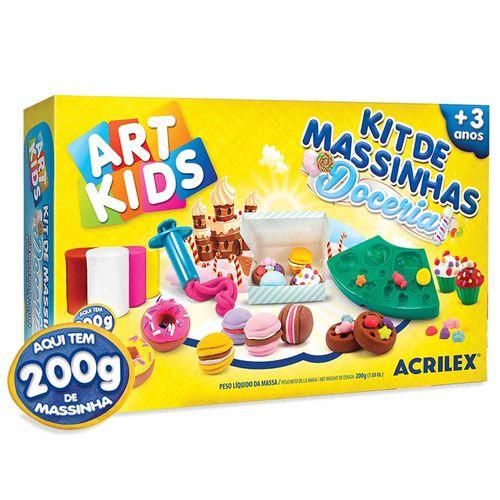 Kit-de-Massinha-de-Modelar-Doceria-200g-Art-Kids-Acrilex