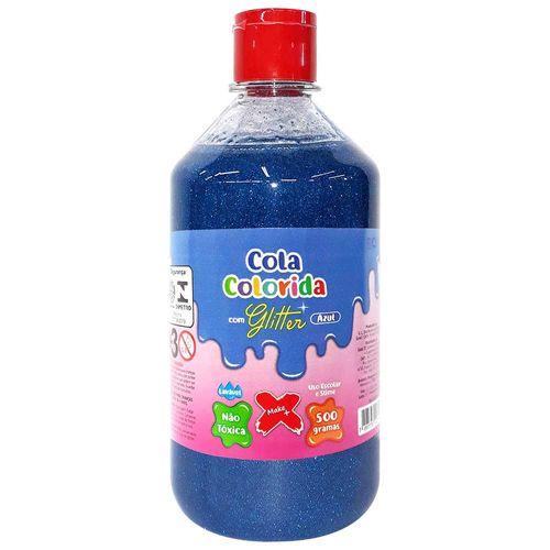 Cola-para-Slime-com-Glittler-500g-Azul-Make-Mais