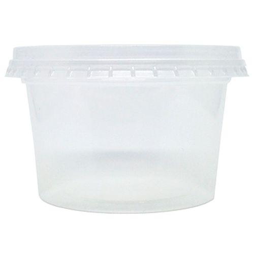 Pote-Redondo-com-Sobretampa-200ml-Rioplastic-25-Unidades
