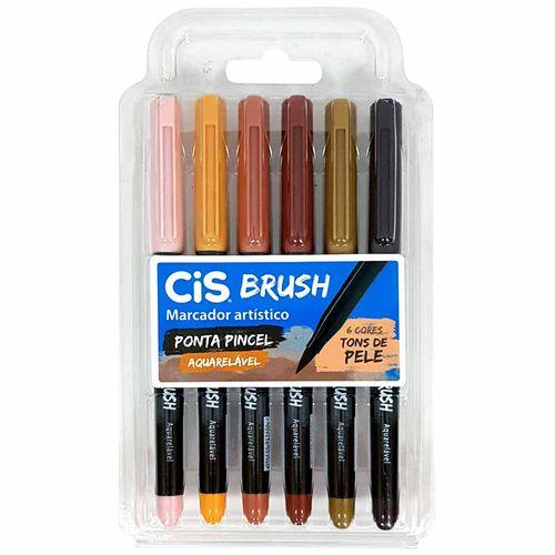 Marcador-Artistico-6-Cores-Brush-Tons-de-Pele-Aquarelavel-Cis