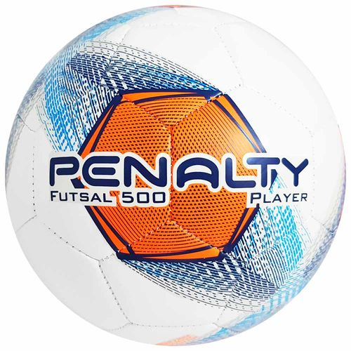Bola-de-Futsal-Penalty-500-Player-Laranja