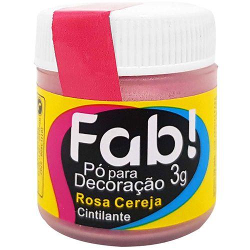 Po-para-Decoracao-Cintilante-3g-Rosa-Cereja-Fab