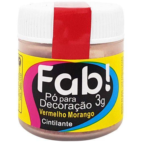 Po-para-Decoracao-Cintilante-3g-Vermelho-Morango-Fab