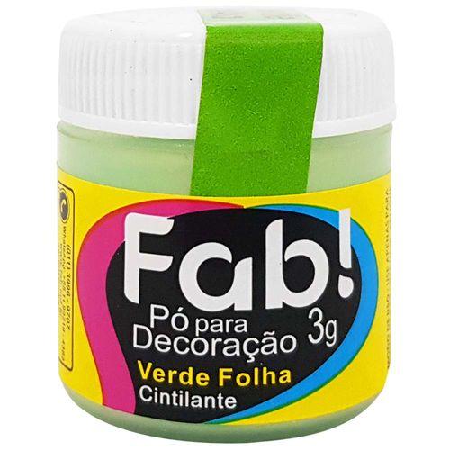 Po-para-Decoracao-Cintilante-3g-Verde-Folha-Fab
