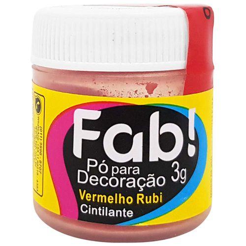 Po-para-Decoracao-Cintilante-3g-Vermelho-Rubi-Fab