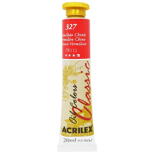 Tinta-Oleo-20ml-Classic-327-Vermelhao-Chines-Acrilex